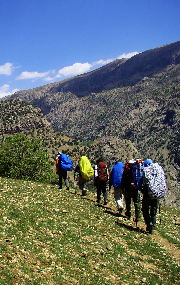 Trekking in Iran
