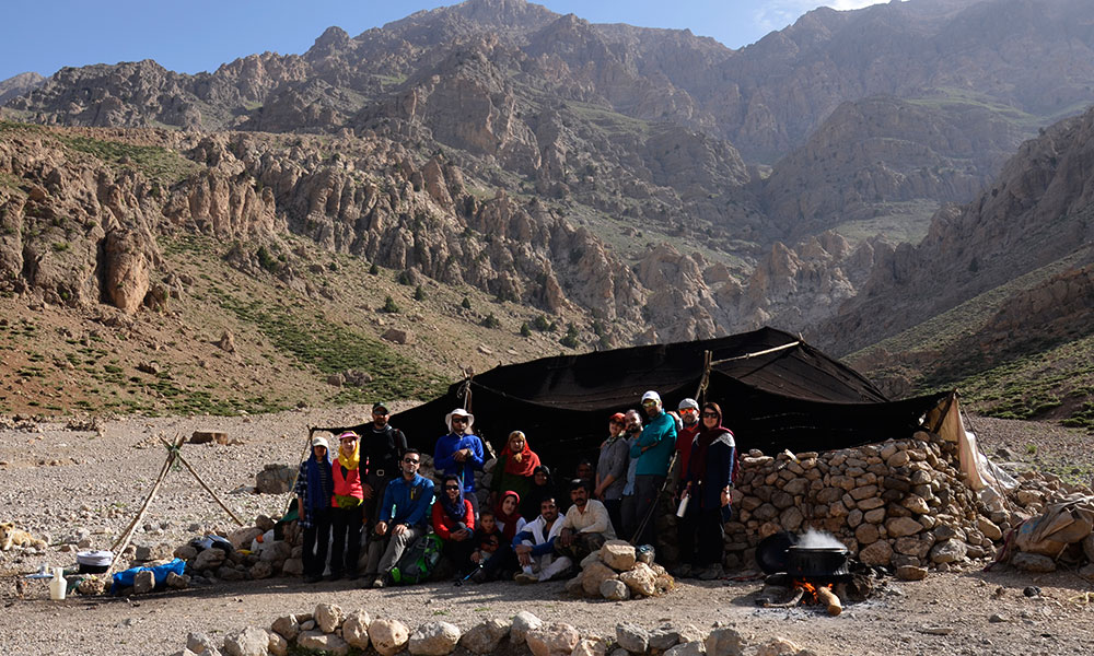 Nomads Tour guide in Iran