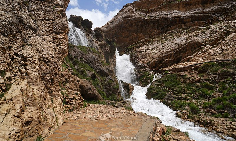 Sheikh ali khan Waterfall