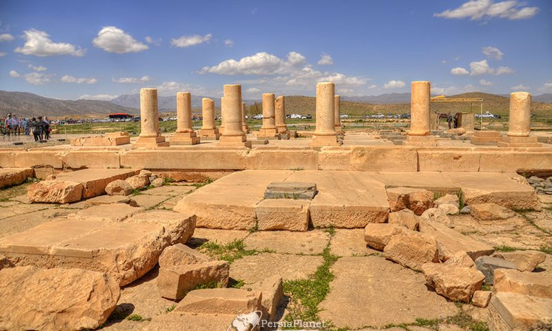 Pasargad historical complex, Private palace   Residence and residential house of Cyrus