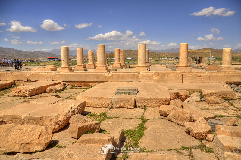 Pasargad historical complex, Private palace | Residence and residential house of Cyrus